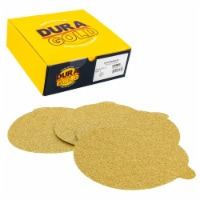 60 Grit - 6  Gold PSA Self Adhesive Stickyback Sanding Discs for DA Sanders - Box of 25 - 60 Grit - Box of 25