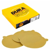 240 Grit - 6  Gold PSA Self Adhesive Stickyback Sanding Discs for DA Sanders - Box of 50 - 240 Grit - 50 Discs