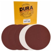Dura-Gold 12  PSA Sanding Discs - 60 Grit (Box of 10) - Sandpaper Discs with Self Adhesive - 60 Grit - Box of 10
