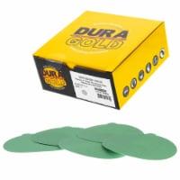 180 Grit - 5  Green Film - PSA Self Adhesive Stickyback Sanding Discs, DA Sanders - Box of 50 - 180 Grit - Box of 50