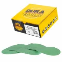 240 Grit - 5  Green Film - PSA Self Adhesive Stickyback Sanding Discs, DA Sanders - Box of 50 - 240 Grit - Box of 50
