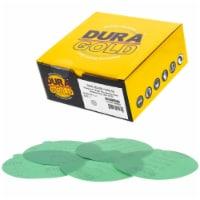 1500 Grit - 5  Green Film - PSA Self Adhesive Stickyback Sanding Discs, DA Sanders - 50 Discs - 1500 Grit - 50 Discs