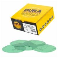 2000 Grit - 5  Green Film - PSA Self Adhesive Stickyback Sanding Discs, DA Sanders - 50 Discs - 2000 Grit - 50 Discs