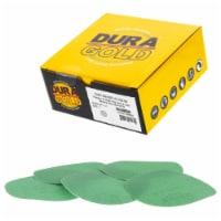 150 Grit - 5  Green Film - Hook & Loop Sanding Discs for DA Sanders - Box of 50 - 150 Grit - 50 Discs