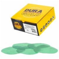1200 Grit - 5  Green Film - Hook & Loop Sanding Discs for DA Sanders - Box of 50 - 1200 Grit - 50 Discs