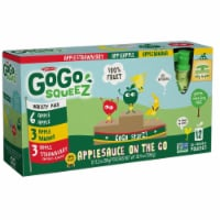 GoGo SqueeZ Variety Pack On the Go Apple Sauce, 3.2 Ounce -- 72 per case. - 12 ct - 3.2 oz