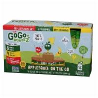 Gogo Squeez Apple Cinnamon Tray Sauce -- 18 per case.