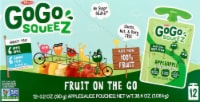GoGo Squeez  Fruit On The Go Apple Sauce Variety Pack