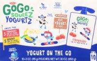 GoGo SqueeZ Yogurtz Strawberry Banana Pouches