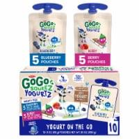 GoGo Squeez® Yogurtz Blueberry & Berry Yogurt On The Go Variety Pack - 10 ct / 3 oz