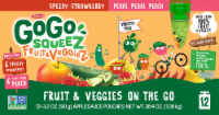 GoGo Squeez Fruits and Veggies Applesauce Pouches Variety Pack