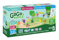 GoGo SqueeZ Apple Cherry & Gimme Five & Apple Pineapple Variety Pack