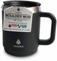 Manna Boulder Mug - Black