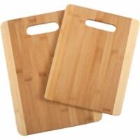 Core Daisy 2-Tone Natural Bamboo Cutting Board (2 Pack) DBC27693 - 1
