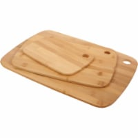 Core Bamboo Classic Small/Medium/Large Natural Cutting Board (3 Pack) DBC27694 - 1