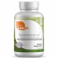 Zahler Kosher Pantothenic Acid +C Capsules