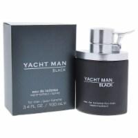 Yacht Man Black by Myrurgia for Men - 3.4 oz EDT Spray