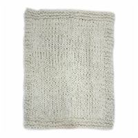 ABUELA WOOL THROW NATURAL - 1 unit