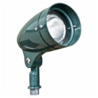 Dabmar Lighting DPR21-G Cast Aluminum Directional Spot Light, Green