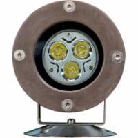 Dabmar Lighting FG313-LED3 Fiberglass LED Pond & Fountain Underwater Light with Stainless Ste - 1