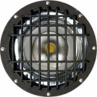 Dabmar Lighting FG4300-GRL-LED18-F 18W & 120V PAR38 LED Flood Fiberglass Well Light with Gril - 1