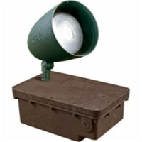 Dabmar Lighting FG-DPR38-G-70MH-MT MT In-Ground Ballast Box with Green Bullet & PAR38 Lamp
