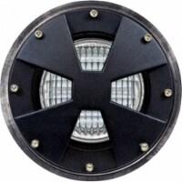 Dabmar Lighting LV307-LED7-B-MR 7W & 12V LED MR16 Well Light with Drive Over Cover - Black