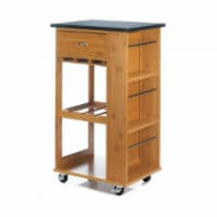 Marble Top Kitchen Cart