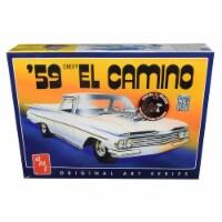 AMT AMT1058 Skill 2 Model Kit 1959 Chevrolet El Camino 2 in 1 Kit with Original Art Series 1