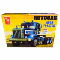 Skill 3 Model Kit Autocar A64B Tractor 1/25 Scale Model by AMT - 1