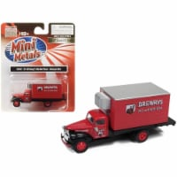 1941-1946 Chevrolet Box (Reefer) Refrigerated Truck \Drewrys Ale and Lager Beer\ Red Model - 1