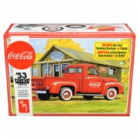 AMT AMT1144M Skill 3 Model Kit 1953 Ford F-100 Pickup Truck Coca-Cola with Vending Machine &