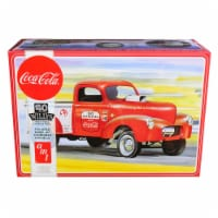 AMT AMT1145M Skill 3 Model Kit 1940 Willys Gasser Pickup Truck Coca-Cola 1 by 25 Scale Model