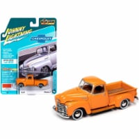 Johnny Lightning JLCG022-JLSP106A 1950 Chevrolet 3100 Pickup Truck Omaha Orange Classic Gold