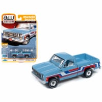 Autoworld 64242-AWSP034B 1976 Chevrolet Bonanza C10 Fleetside Pickup Truck Bicentennial Editi - 1
