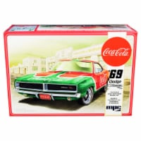 Skill 3 Snap Model Kit 1969 Dodge Charger RT \Coca-Cola\ 1/25 Scale Model by MPC - 1