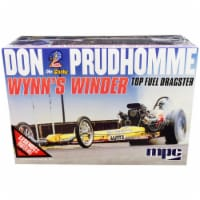MPC MPC921 Skill 2 Model Kit Don Snake Prudhomme Wynns Winder TFD Top Fuel Dragster Legends o