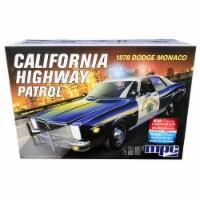 MPC MPC922M Skill 2 Model Kit 1978 Dodge Monaco CHP California Highway Patrol Police Car 1 by