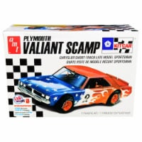 AMT AMT1171M Skill 2 Model Kit Plymouth Valiant Scamp Kit Car 1 by 25 Scale Model