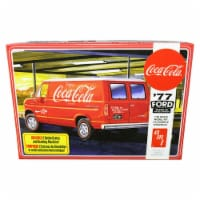 AMT AMT1173M Skill 3 Model Kit 1977 Ford Delivery Van with 2 Bottles Crates & Vending Machine