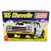 AMT AMT1177 Skill 2 Model Kit 1965 Chevrolet Chevelle Modified Stocker 1 by 25 Scale Model
