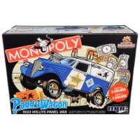 MPC MPC924M Skill 2 Snap Model Kit 1933 Willys Panel Paddy Wagon Police Van Monopoly 85th Ann