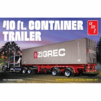 Amt AMT1196 40 ft. Semi Container Trailer Plastic Model Kit