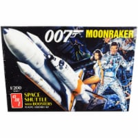 AMT AMT1208 Skill 2 Model Kit Space Shuttle with Boosters Moonraker 1979 Movie James Bond 007 - 1