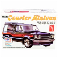 Skill 2 Model Kit 1978 Ford Courier Minivan 2-in-1 Kit 1/25 Scale Model by AMT - 1