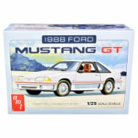AMT AMT1216M Skill 2 Model 1988 Ford Mustang GT Kit for 1 by 25 Scale Model