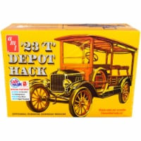 Skill 2 Model Kit 1923 Ford T Depot Hack 2-in-1 Kit 1/25 Scale Model by AMT - 1