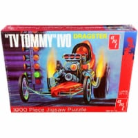 Jigsaw Puzzle \TV Tommy\ Ivo Dragster MODEL BOX PUZZLE (1000 piece) by AMT - 1