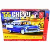 Jigsaw Puzzle 1955 Chevrolet Bel Air Sedan MODEL BOX PUZZLE (1000 piece) by AMT - 1