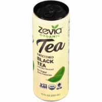 Zevia Sweetened Black Tea